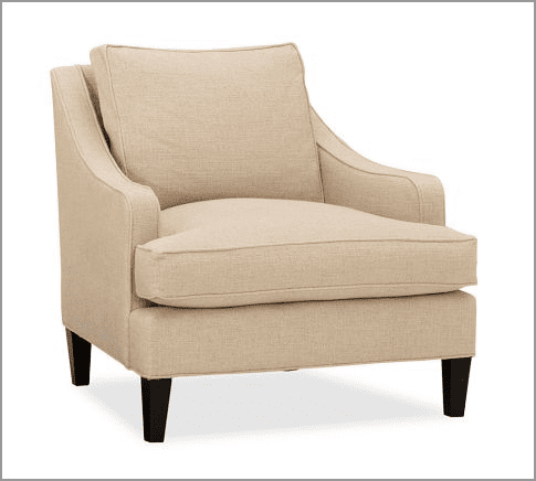 Delta - upholstered chairs and ottomans - Custom bedroom furniture with high end, bedroom textiles | Blend Home Furnishings