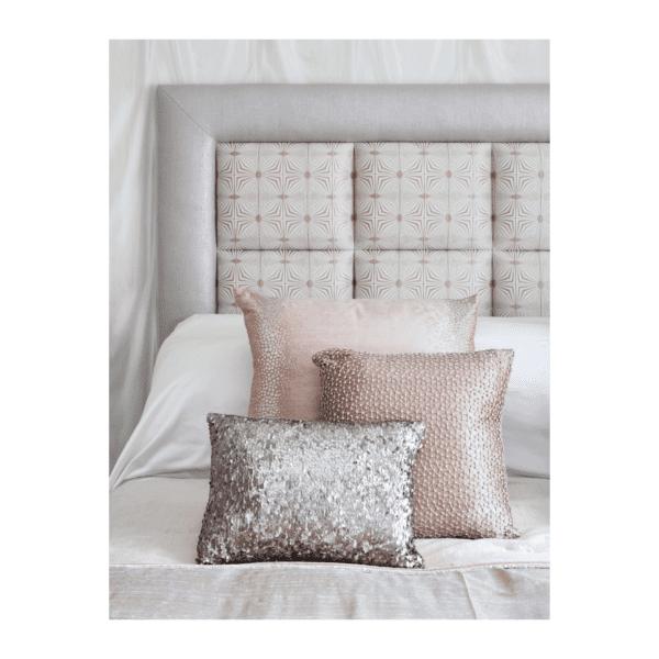 custom bedroom furniture and custom upholstered headboard