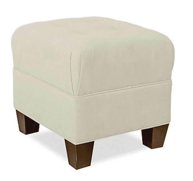 Lesley upholstered chairs and ottomans - Custom bedroom furniture with high end, bedroom textiles   Blend Home Furnishings