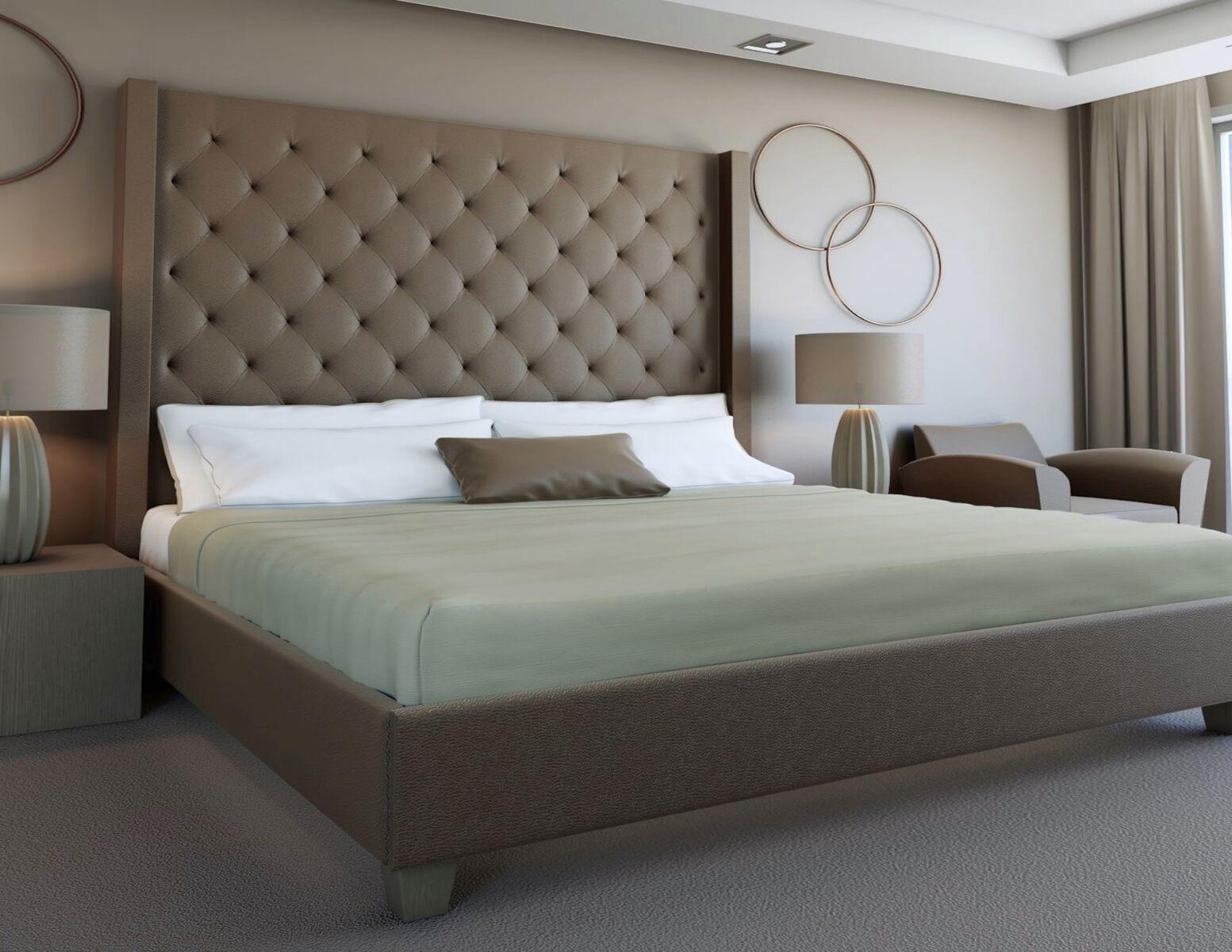 luxury headboard, wall mounted headboards, and custom upholstered bed