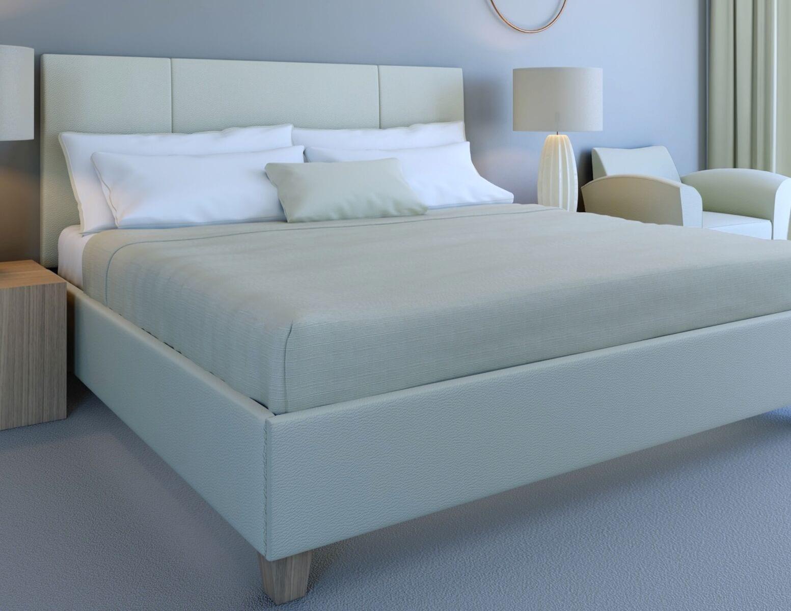 custom bedroom furniture with custom upholstered headboard