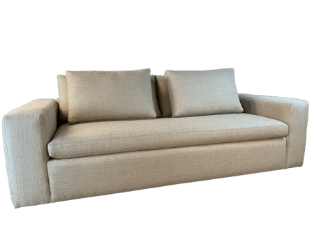 Morgan Sofa Blend, beautiful custom home furniture and built to match your custom bedroom furniture