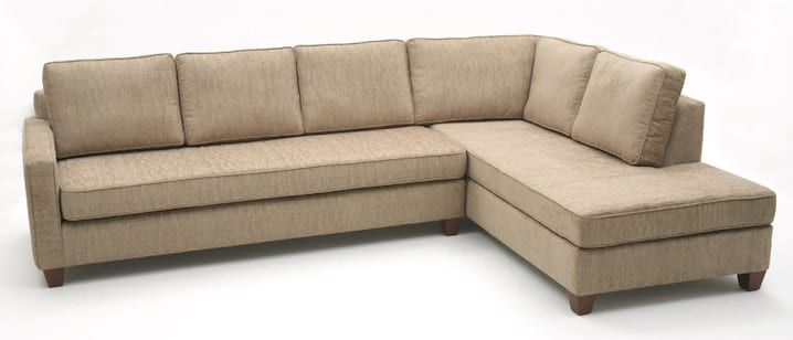 Miller Sectional to view, custom built furniture to match your custom home furniture or custom bedroom furniture